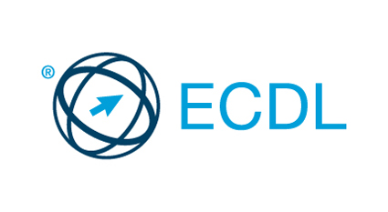 ECDL SHORT LOGO WITH REGISTRATION RGB
